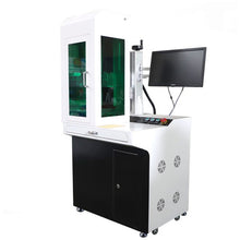 Load image into Gallery viewer, XTLaser Desktop Fiber Laser Marking Machine with cover