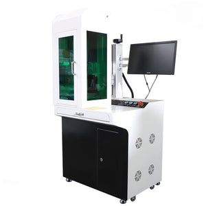 XTLaser Desktop Fiber Laser Marking Machine with cover