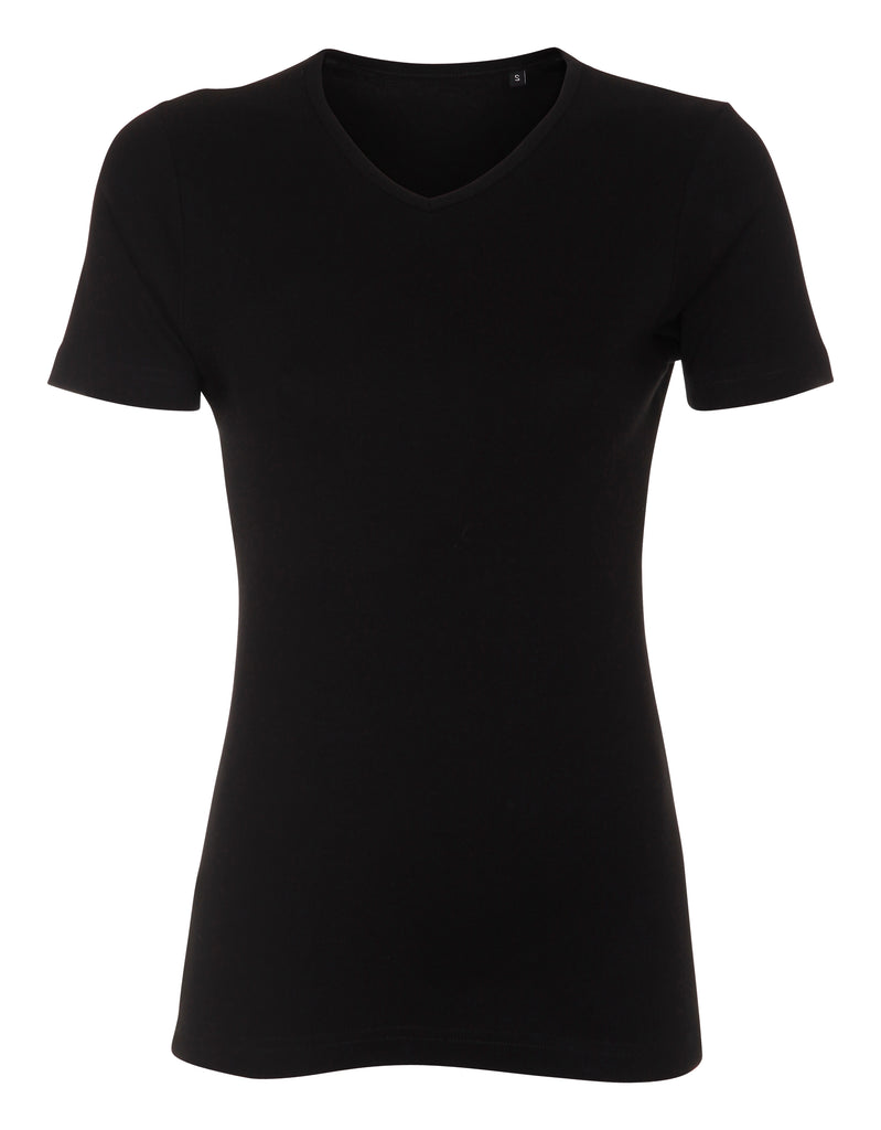 Lady Cotton V-neck Label Free