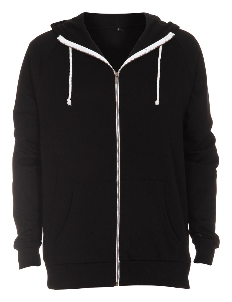 Miami Hooded Zip Sweat Label Free