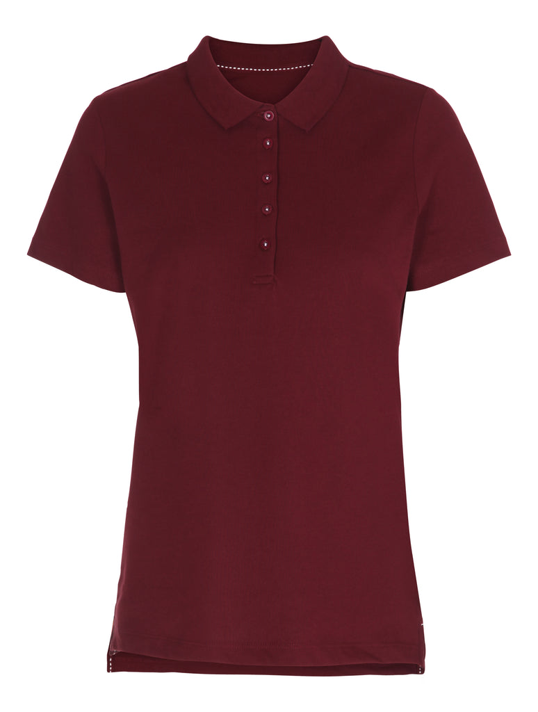Lady Stretch Polo Label Free
