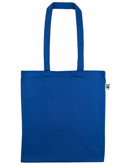Cotton Bag, Fairtrade-Cotton, long handles