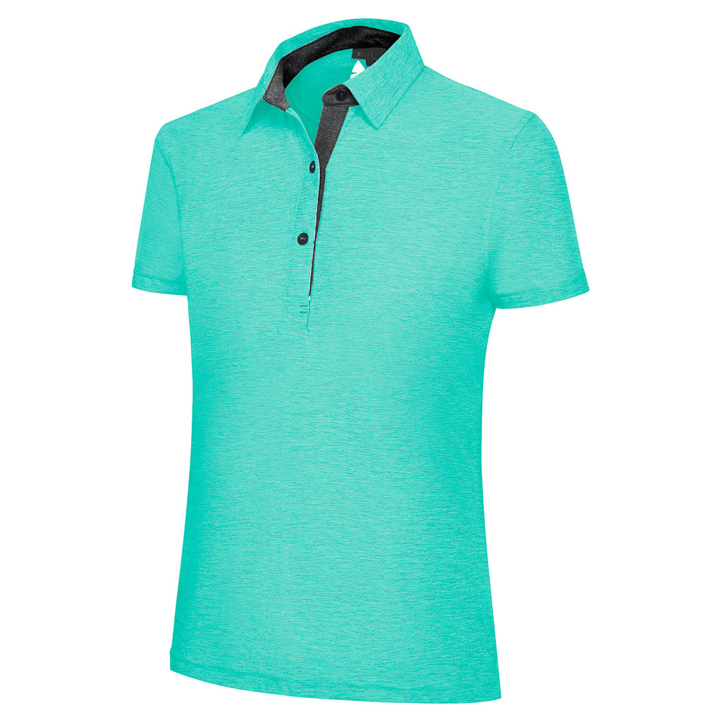 Melange Polo Shirt Ladies