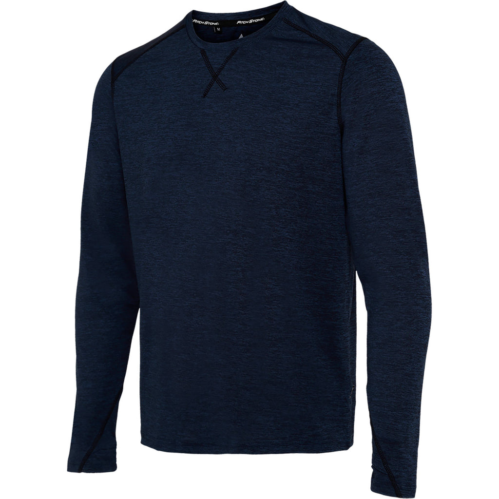 Melange T-shirt LS Men