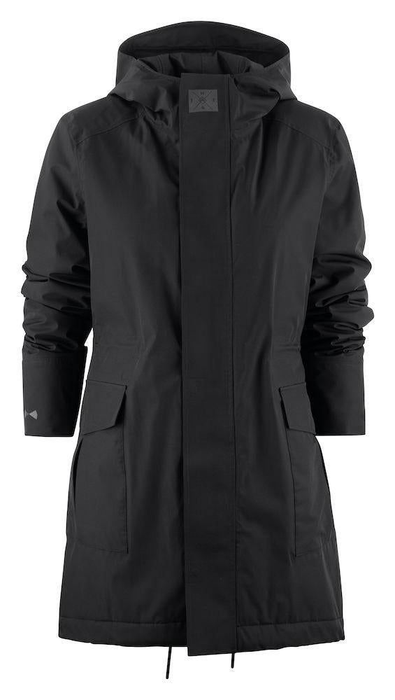 J.H&F Technical Parka Coat - Women