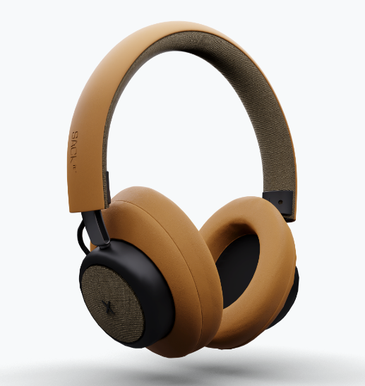 TOUCHit over-ear headphones