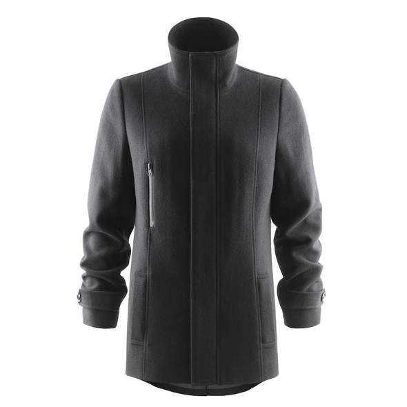 J.H&F Hybrid Wool Coat Women