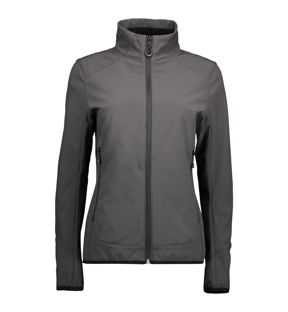 Funktionel softshell damejakke