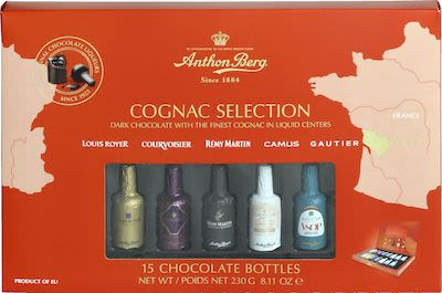 Anthon Berg Chocolate Liqueurs Cognac Selection 15 pc 230g