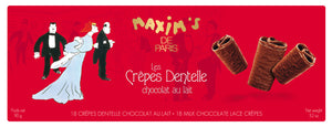 Maxim's de Paris Lace Crepes (12 pc per box  of 90g)