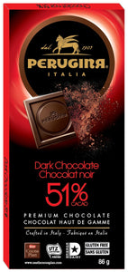 Perugina 51% Dark Chocolate Tablet 86g