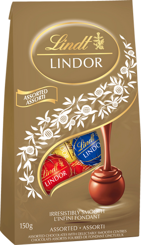 Lindt Lindor Assorted Truffles 150g bag