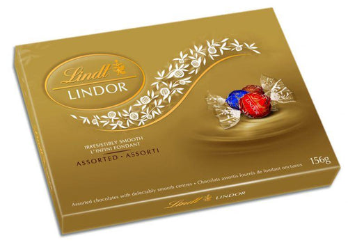 Lindt Lindor Assorted 156g Box