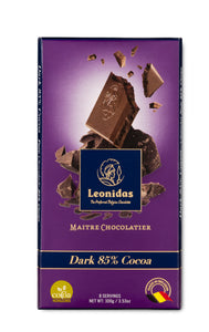 Leonidas 85% Dark Chocolate Tablet 100g
