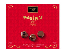 Load image into Gallery viewer, Maxim's de Paris Milk Chocolate Assorted (12 pc per box  of 120g)