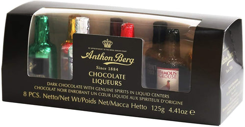 Anthon Berg Chocolate Liqueurs Gift Tube 8 pc 125g