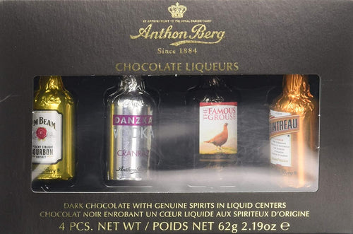 Anthon Berg Chocolate Liqueurs Gift Box 4 pc 62g