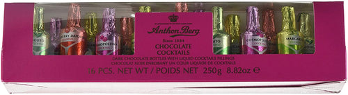 Anthon Berg Chocolate Cocktails Gift Tube 16 pc 250g