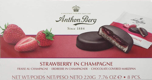 Anthon Berg Strawberry in Sparkling Wine 12pc 220g