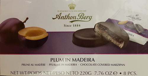 Anthon Berg Plum in Madeira 12pc 220g