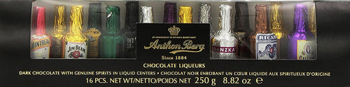Anthon Berg Chocolate Liqueurs Gift Tube 16 pc 250g