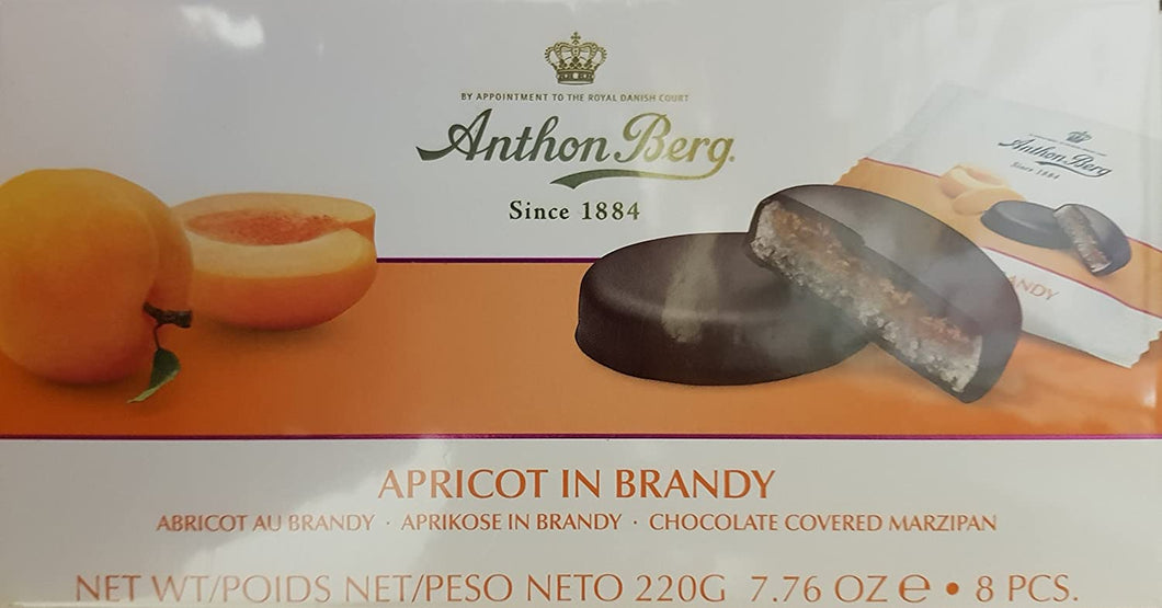 Anthon Berg Apricot in Brandy 12pc 220g