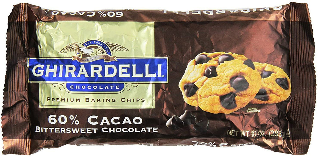 Ghirardelli Baking Chips - 60% Cacao 250g
