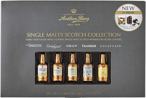 Anthon Berg Chocolate Liqueur Single Malts 15 pc 230g