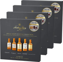 Load image into Gallery viewer, Anthon Berg Chocolate Liqueur Single Malts 10 pc 155g (Buy 3, get 1 FREE)