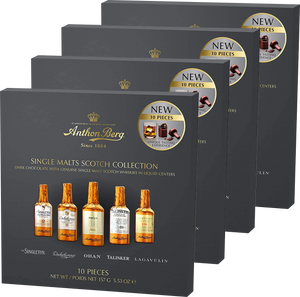 Anthon Berg Chocolate Liqueur Single Malts 10 pc 155g (Buy 3, get 1 FREE)