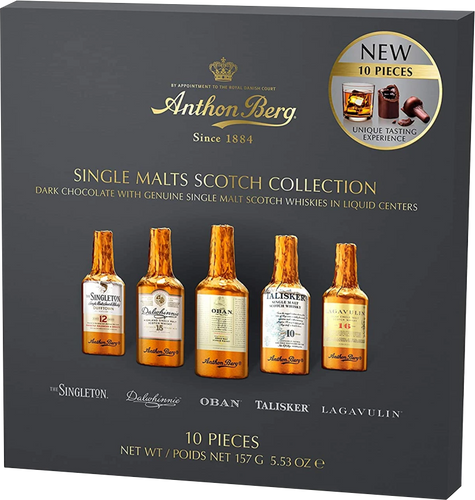 Anthon Berg Chocolate Liqueur Single Malts 10 pc 155g