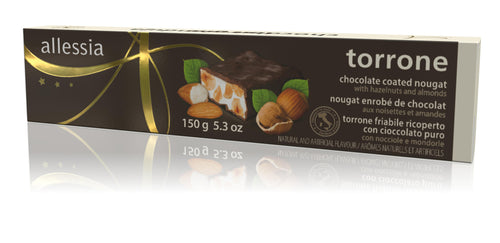 Allessia Torrone Hard Chocolate 150g