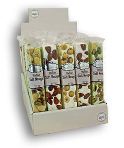 Allessia Nougat Bar Nuts 100g