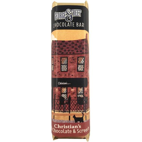 Newfoundland CC George Street Bar Christian's – Milk Chocolate & Screech 50g