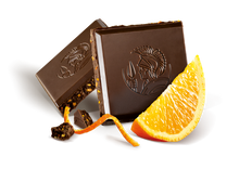 Load image into Gallery viewer, Leonidas Dark Chocolate Orange Tablet 100g
