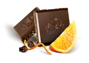 Leonidas Dark Chocolate Orange Tablet 100g