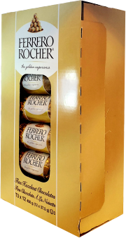Ferrero Rocher Fine Hazelnut Chocolates 12 x 37.5g (450g box)