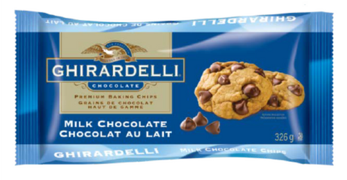 Ghirardelli Baking Chips - Milk Chocolate 326g