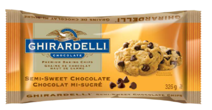 Ghirardelli Baking Chips - Semi-Sweet 326g