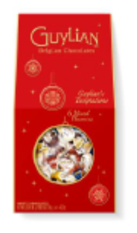 Guylian Mixed Temptations Christmas Impulse Pack 124g