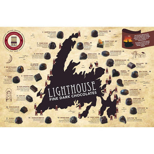 Newfoundland CC Lighthouse Series Dark Chocolates (30 pc per box)