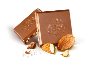 Leonidas Milk Chocolate Almond Tablet 100g