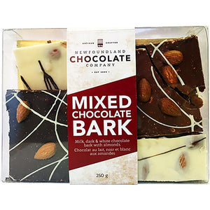 Newfoundland CC Mixed Chocolate Almond Bark Mixed Chocolate