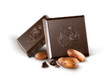 Load image into Gallery viewer, Leonidas Dark Chocolate Cocoa Nibs Tablet 100g