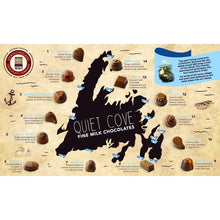 Load image into Gallery viewer, Newfoundland CC Quiet Cove Series Milk Chocolates (15 pc per box)