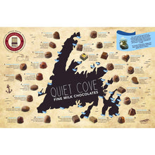 Load image into Gallery viewer, Newfoundland CC Quiet Cove Series Milk Chocolates (30 pc per box)