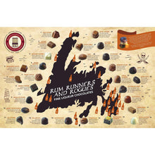 Load image into Gallery viewer, Newfoundland CC Rum Runners & Rogues Series Liquor Centre Chocolates (30 pc per box)