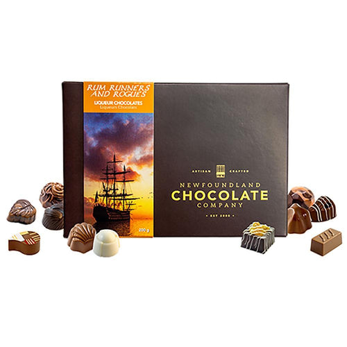 Newfoundland CC Rum Runners & Rogues Series Boxed Chocolate
