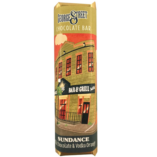 Newfoundland CC George Street Bar Sundance – Milk Chocolate, Vodka & Orange 50g