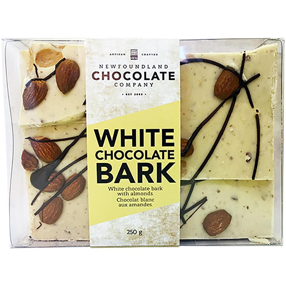 Newfoundland CC White Chocolate Almond Bark White Chocolate